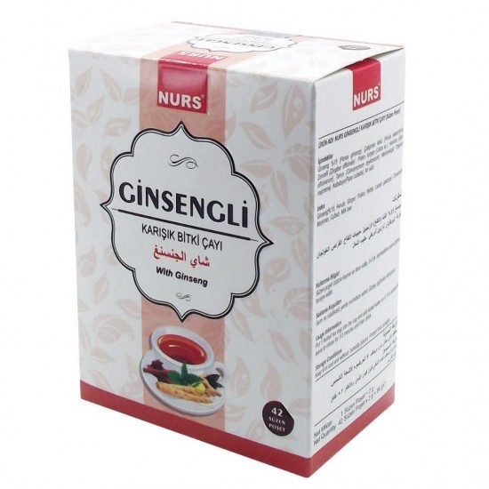 Aktardanal Ginsengli Bitki Çayı