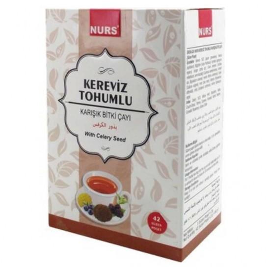 Aktardanal Kereviz Tohumlu Bitki Çayı