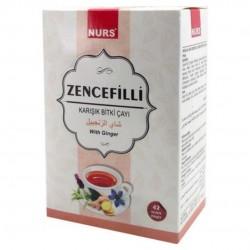 Zencefilli Karışık Bitki Çayı