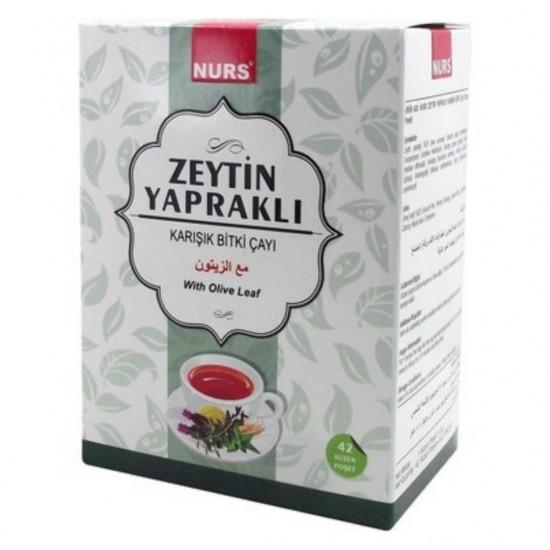 Aktardanal Zeytin Yapraklı Karışık Bitki Çayı